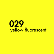 ORACAL 6510-029 Yellow Fluorescent