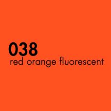 ORACAL 6510-038 Red Orange Fluorescent