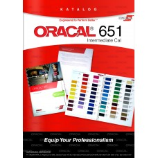 ORACAL COLOUR CHART 651 GLOSS