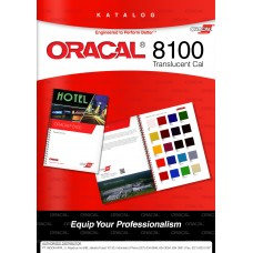 ORACAL COLOUR CHART 8100